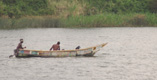 Fishermen in the Kazinga Channel